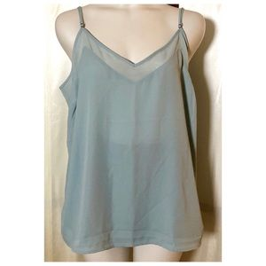 Maurice's sea-foam Green tank
